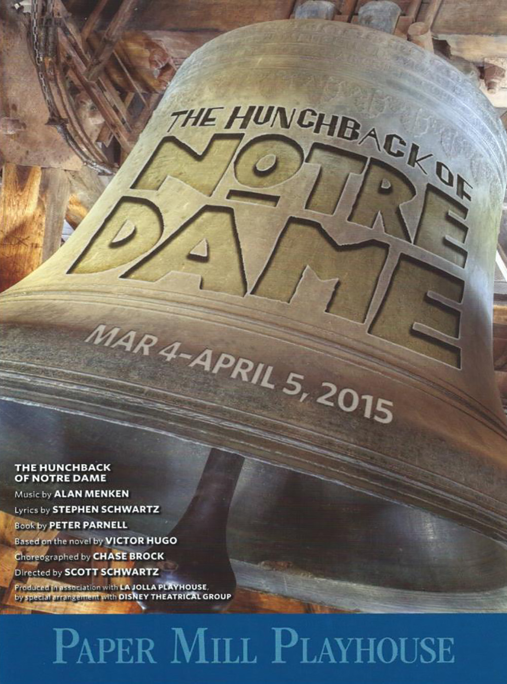 Hunchback of Notre Dame at Papermill Playhouse