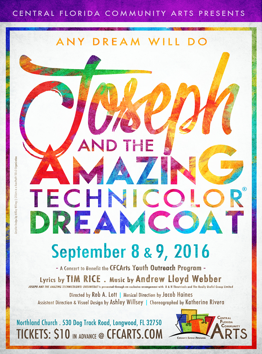Joseph and the Amazing Technicolor Dreamcoat CFCArts